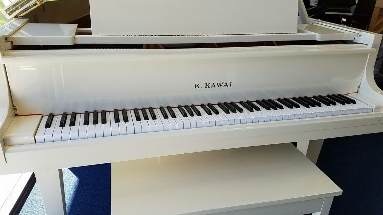 Kawai White Baby Grand The Piano Guys