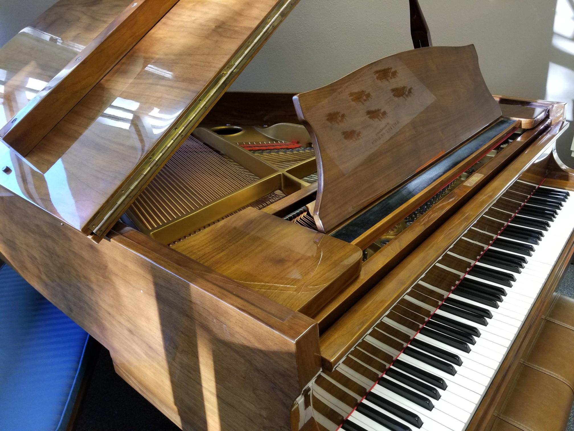 Sojin Walnut Baby Grand The Piano Guys